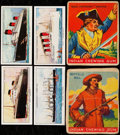 "Non-Sport Cards:Lots, 1937 W.A. & A.C. Churchman ""The Story of Navigation"" Complete Set (50) Plus Two 1933-41 Goudey ""Indian Gum"" Cards...."