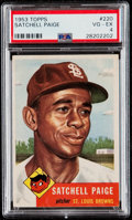 Baseball Cards:Singles (1950-1959), 1953 Topps Satchell Paige #220 PSA VG-EX 4....