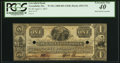 Obsoletes By State:Massachusetts, Greenfield, MA- Greenfield Bank $1 Apr. 3, 1837 UNL PCGS Extremely Fine 40.. ...