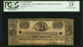 Obsoletes By State:Massachusetts, Greenfield, MA- Greenfield Bank $3 May 23, 1837 UNL PCGS Very Fine25.. ...