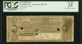 Obsoletes By State:Massachusetts, Greenfield, MA- Greenfield Bank $5 Apr. 1, 1831 PCGS Very Fine 25.....