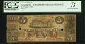 Obsoletes By State:Massachusetts, Greenfield, MA- Greenfield Bank $5 Sep. 1, 1856 (?) PCGS Fine 15.....