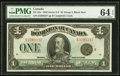 Canadian Currency, DC-25o $1 1923 PMG Choice Uncirculated 64 EPQ.. ...