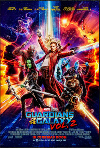 """Guardians of the Galaxy Vol. 2 (Walt Disney Pictures, 2017). Rolled, Very Fine. International One Sheet (27"""" X 40&q..."""
