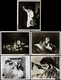 """Elvis: That's the Way It Is (MGM, 1970). Very Fine. Photos (5) (8"""" X 10""""). Elvis Presley. ... (Total: 5 Items)"""