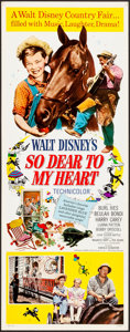 """Movie Posters:Drama, So Dear to My Heart & Others Lot (Buena Vista, R-1964). VeryFine. Inserts (3) (14"""" X 36""""). Drama.. ... (Total: 3 Items)"""