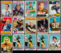 Football Cards:Lots, 1954-86 Multi-Sport Collection (150+)....