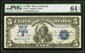 Large Size:Silver Certificates, Fr. 281 $5 1899 Silver Certificate PMG Choice Uncirculated 64 EPQ.. ...