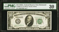 Small Size:Federal Reserve Notes, Fr. 2001-E* $10 1928A Federal Reserve Note. PMG Very Fine 30.. ...