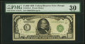 Small Size:Federal Reserve Notes, Fr. 2210-G $1,000 1928 Federal Reserve Note. PMG Very Fine 30.. ...