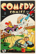 Golden Age (1938-1955):Funny Animal, Comedy Comics #22 (Timely, 1944) Condition: GD+....