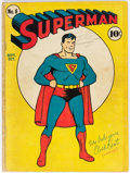 Golden Age (1938-1955):Superhero, Superman #6 (DC, 1940) Condition: Incomplete....