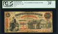 Obsoletes By State:Virginia, Charlottesville, VA- Monticello Bank $50 June 19, 1860 G28a Jones BC25-35 PCGS Very Fine 20.. ...