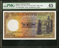 World Currency, Egypt National Bank of Egypt 10 Pounds 12.10.1935 Pick 23a PMG Choice Extremely Fine 45.. ...