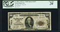 National Bank Notes:Pennsylvania, Erie, PA - $100 1929 Ty. 2 The NB & TC Ch. # 14219 PCGS Very Fine 20.. ...