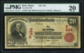 National Bank Notes:Maine, Bath, ME - $20 1902 Red Seal Fr. 639 The Bath NB Ch. # (N)494 PMG Very Fine 20.. ...