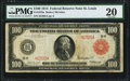 Fr. 1079a $100 1914 Red Seal Federal Reserve Note PMG Very Fine 20