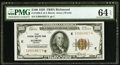 Fr. 1890-E $100 1929 Federal Reserve Bank Note. PMG Choice Uncirculated 64 EPQ