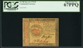 Colonial Notes:Continental Congress Issues, Continental Currency January 14, 1779 $4 PCGS Superb Gem New 67PPQ.. ...