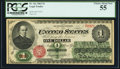 Fr. 16c $1 1862 Legal Tender PCGS Choice About New 55