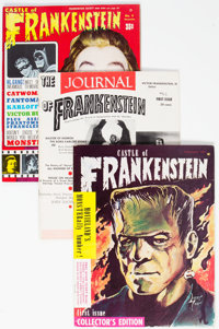 Castle of Frankenstein Group of 20 - White Mountain Pedigree (Gothic Castle Printing, 1959-74) Condition: Average FN/VF...