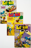 Silver Age (1956-1969):Superhero, Batman Group of 7 (DC, 1960-64) Condition: Average GD/VG.... (Total: 7 Comic Books)