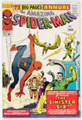 Silver Age (1956-1969):Superhero, The Amazing Spider-Man Annual #1 (Marvel, 1964) Condition: VG+....