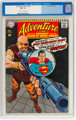 Adventure Comics #358 (DC, 1967) CGC NM- 9.2 Off-white to white pages