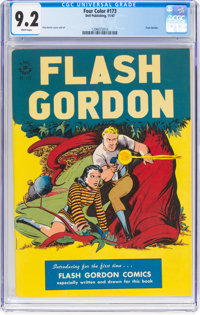 Four Color #173 Flash Gordon (Dell, 1947) CGC NM- 9.2 White pages