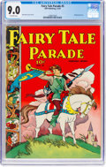 Golden Age (1938-1955):Humor, Fairy Tale Parade #5 (Dell, 1943) CGC VF/NM 9.0 Off-white pages....