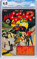 Golden Age (1938-1955):Superhero, All Star Comics #5 (DC, 1941) CGC VG 4.0 Cream to off-white pages....