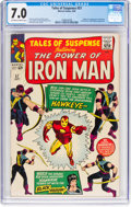 Silver Age (1956-1969):Superhero, Tales of Suspense #57 (Marvel, 1964) CGC FN/VF 7.0 Off-white to white pages....