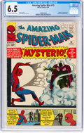 Silver Age (1956-1969):Superhero, The Amazing Spider-Man #13 (Marvel, 1964) CGC FN+ 6.5 Off-white to white pages....