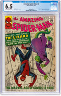 Silver Age (1956-1969):Superhero, The Amazing Spider-Man #6 (Marvel, 1963) CGC FN+ 6.5 Off-white to white pages....