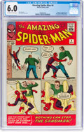 Silver Age (1956-1969):Superhero, The Amazing Spider-Man #4 (Marvel, 1963) CGC FN 6.0 Off-white to white pages....