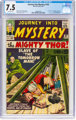 Journey Into Mystery #102 (Marvel, 1964) CGC VF- 7.5 Off-white pages