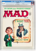 Magazines:Mad, MAD #48 Pacific Coast Pedigree (EC, 1959) CGC NM 9.4 Off-whitepages....