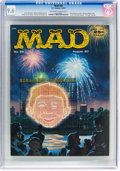 Magazines:Mad, MAD #34 (EC, 1957) CGC NM+ 9.6 Off-white to white pages....