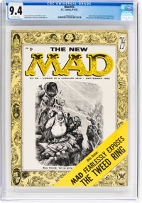 MAD #25 (EC, 1955) CGC NM 9.4 Off-white pages