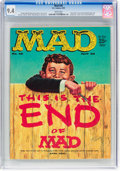 Magazines:Mad, MAD #46 (EC, 1959) CGC NM 9.4 White pages....
