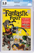 Silver Age (1956-1969):Superhero, Fantastic Four #2 (Marvel, 1962) CGC VG/FN 5.0 Off-white to white pages....