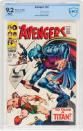 Silver Age (1956-1969):Superhero, The Avengers #50 (Marvel, 1968) CBCS NM- 9.2 White pages....