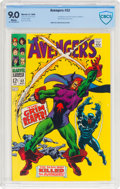 Silver Age (1956-1969):Superhero, The Avengers #52 (Marvel, 1968) CBCS VF/NM 9.0 White pages....