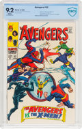 Silver Age (1956-1969):Superhero, The Avengers #53 (Marvel, 1968) CBCS NM- 9.2 White pages....