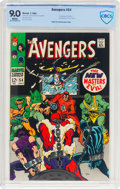 Silver Age (1956-1969):Superhero, The Avengers #54 (Marvel, 1968) CBCS VF/NM 9.0 White pages....