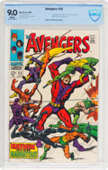 Silver Age (1956-1969):Superhero, The Avengers #55 (Marvel, 1968) CBCS VF/NM 9.0 White pages....