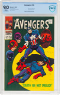 Silver Age (1956-1969):Superhero, The Avengers #56 (Marvel, 1968) CBCS VF/NM 9.0 White pages....