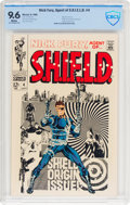 Silver Age (1956-1969):Superhero, Nick Fury, Agent of S.H.I.E.L.D. #4 (Marvel, 1968) CBCS NM+ 9.6 White pages....