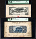 Canadian Currency, Quebec, PQ- The Quebec Bank $10 1.6.1908 Ch. # 620...