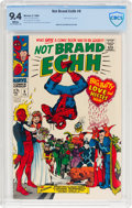 Silver Age (1956-1969):Humor, Not Brand Echh #6 (Marvel, 1968) CBCS NM 9.4 White pages....